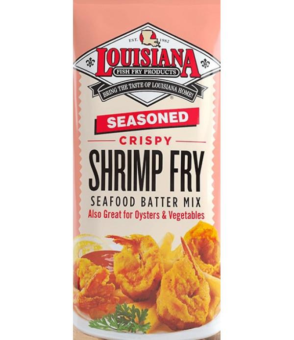 Louisiana Fish Fry Shrimp Fry 25 lb