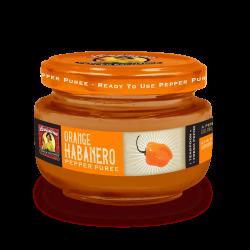 Orange Habanero Pepper Puree, 4oz Louisiana Pepper...