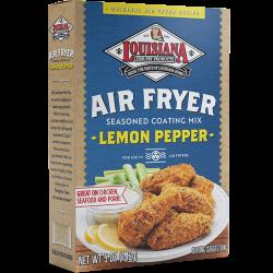 Louisiana Fish Fry Air Fry Lemon Pepper Coating Mi...