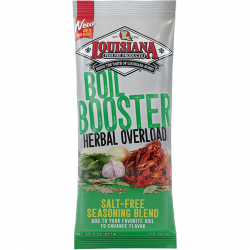 Louisiana Fish Fry Boil Booster Herbal Overload 7oz