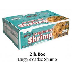 Louisiana Select 2lb BOX Breaded Shrimp