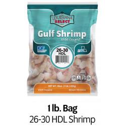 Louisiana Select 1lb BAG 26-30 Headless Shrimp