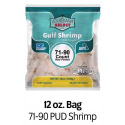 Louisiana Select 12oz BAG 71-90 PUD Shrimp