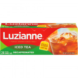 Luzianne Family Decaf Tea Bags 24 ct