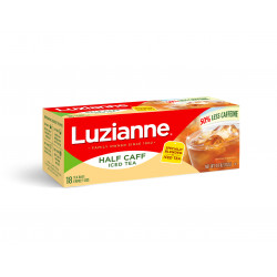Luzianne Family Size Half Caff Iced Tea Bags 18ct