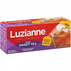 Luzianne Family Size Iced Sweet Tea Bags 22ct