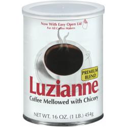 Luzianne Premium Blend C&C White Can 16oz