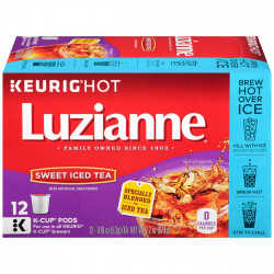 Luzianne Sweet Tea Single Serve Cups 12ct