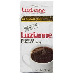 Luzianne White Label Dark Roast C&C Bag 13oz