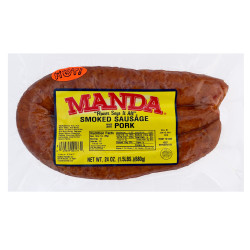 Manda Hot Sausage 24oz