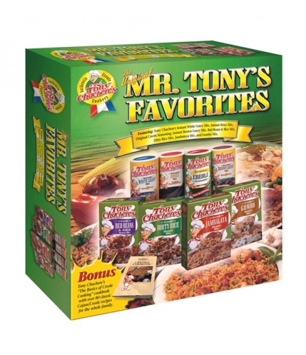 Tony Chachere's Mr Tony's Favorites