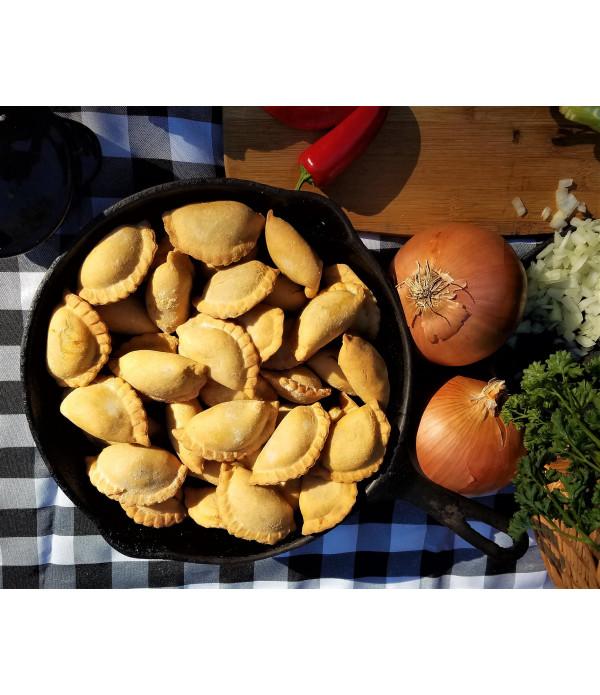Mrs Wheat's mini Shrimp Andouille Pies 20ct 1oz