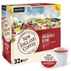 New England Coffee Breakfast Blend Single Serve 32...