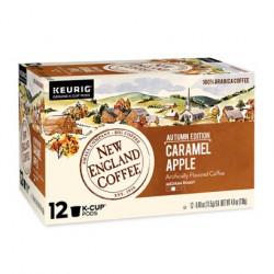 New England Coffee Caramel Apple Single Serve 12ct