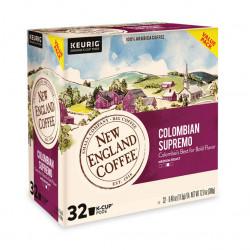 New England Coffee Colombian Supremo Single Serve ...