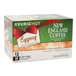 New England Coffee Eggnog Single Serve 12ct