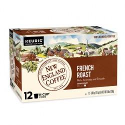 New England Coffee French Roast Single Serve 12ct