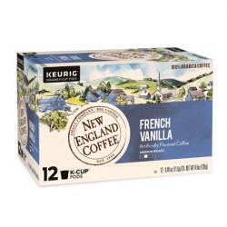 New England Coffee French Vanilla Single Serve 12c...