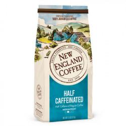 New England Coffee Half Caffeinated 10oz