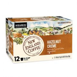 New England Coffee Hazelnut Crème Single Serve 12...