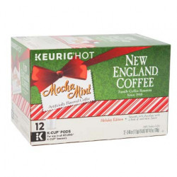 New England Coffee Mocha Mint Single Serve 12ct