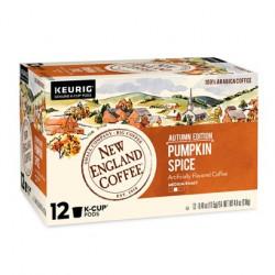 New England Coffee Pumpkin Spice Single Serve 12ct