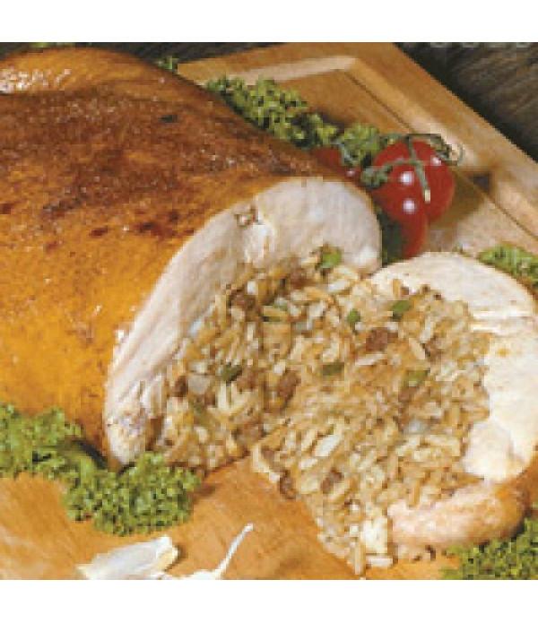 Poche's Stuffed Chicken w/ Cornbread