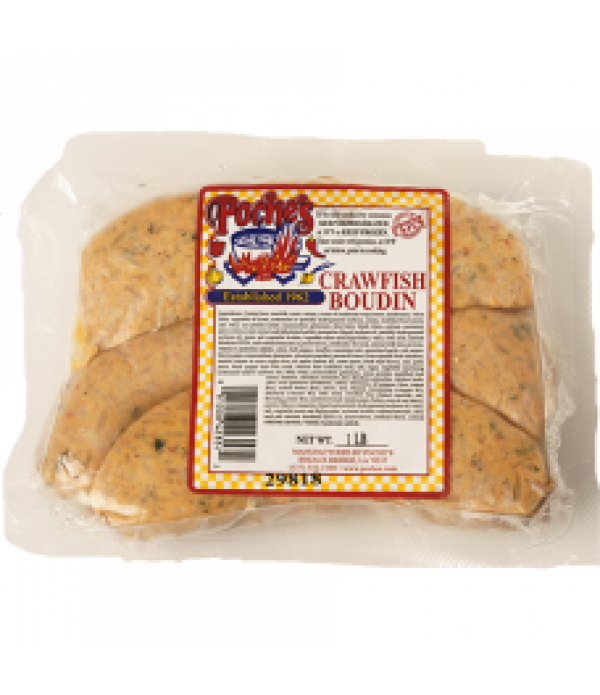 Poche's Crawfish Boudin 1lb