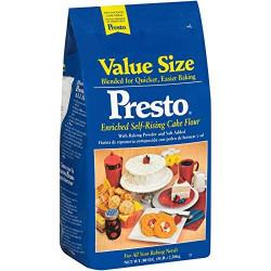 Presto Self Rising Cake Flour 5lb Bag