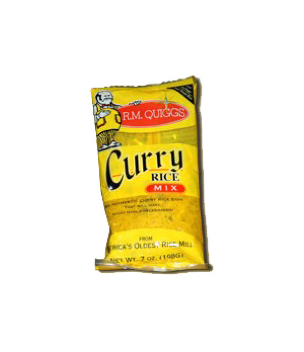 RM Quiggs Curry Rice Mix 7 oz