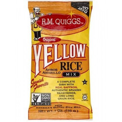 RM Quiggs Yellow Rice Mix 7 oz