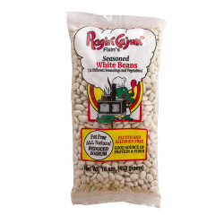 Ragin Cajun Seasoned White Beans 16oz