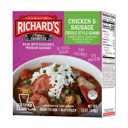 Richard's Chicken & Sausage Gumbo 12oz