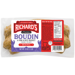 Richard's Original Boudin 1lb