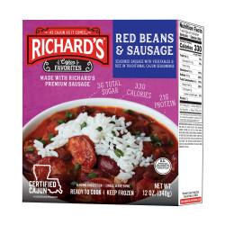 Richard's Red Beans & Sausage 12oz