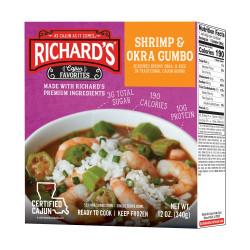 Richard's Shrimp & Okra Gumbo 12oz