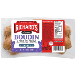 Richard's Smoked Boudin 1lb