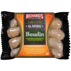 Richard's All Natural Boudin 12oz