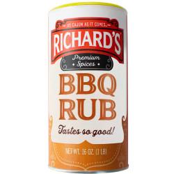 Richard's BBQ Rub Seasoning 16oz
