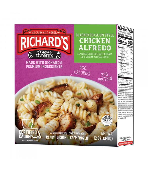 Richard's Blackened Cajun Chicken Alfredo 12oz