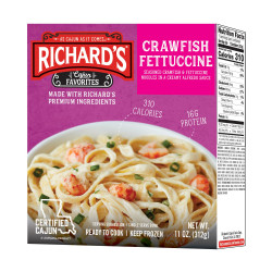 Richard's Crawfish Fettuccine 11oz
