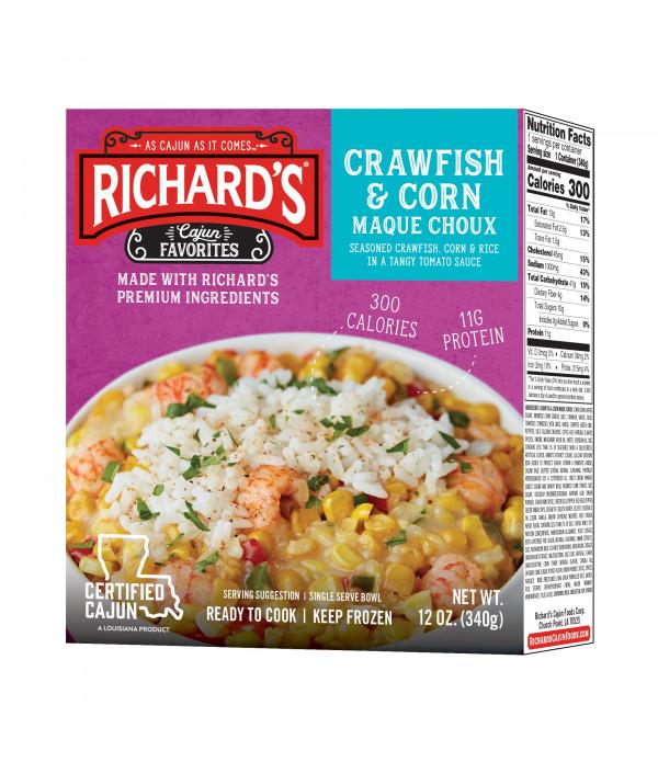 Richard's Crawfish & Corn Macque Choux 12oz
