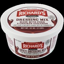 Richard's Dressing Mix Hot 2lb