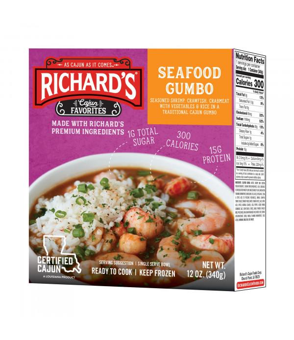 Richard's Seafood Gumbo 12oz