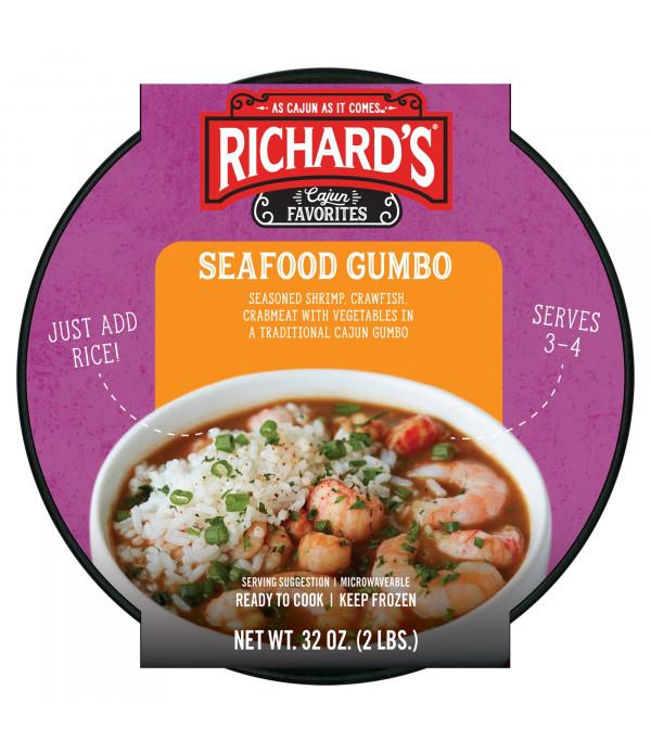 Richard's Seafood Gumbo 32oz