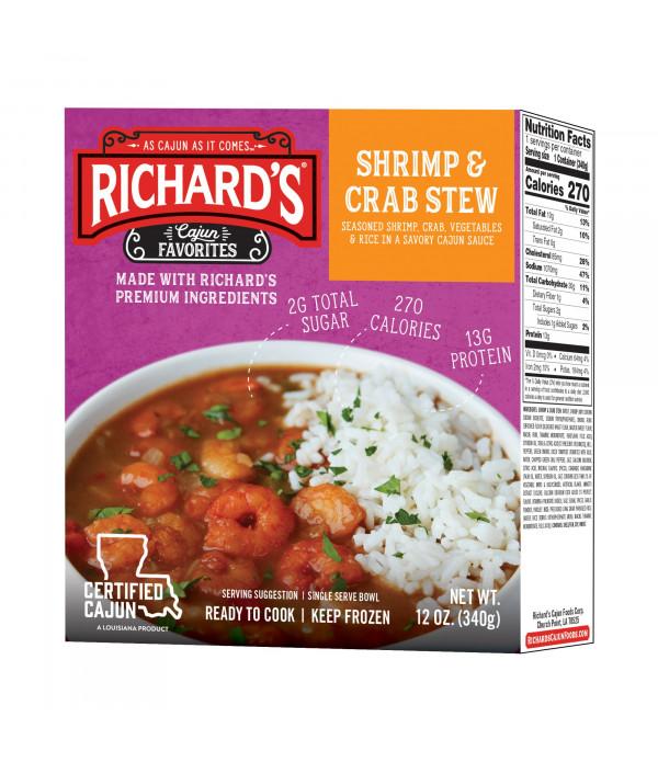Richard's Shrimp & Crab Stew 12oz
