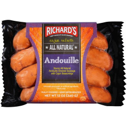 Richard's All Natural Andouille 12oz