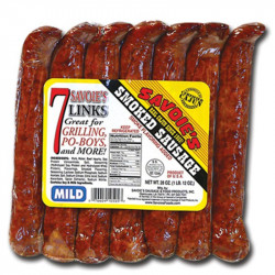 Savoie's 7 Links Smoked Mild Mixed Sausage 28oz