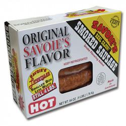Savoie's Smoked Mixed Hot Sausage 64oz