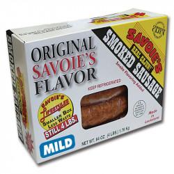 Savoie's Smoked Mixed Mild Sausage 64oz